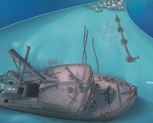 Tabaiba wreck diving tenerife