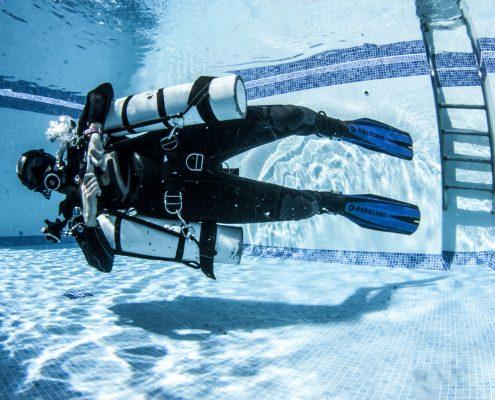 sidemount diver specialty tenerife