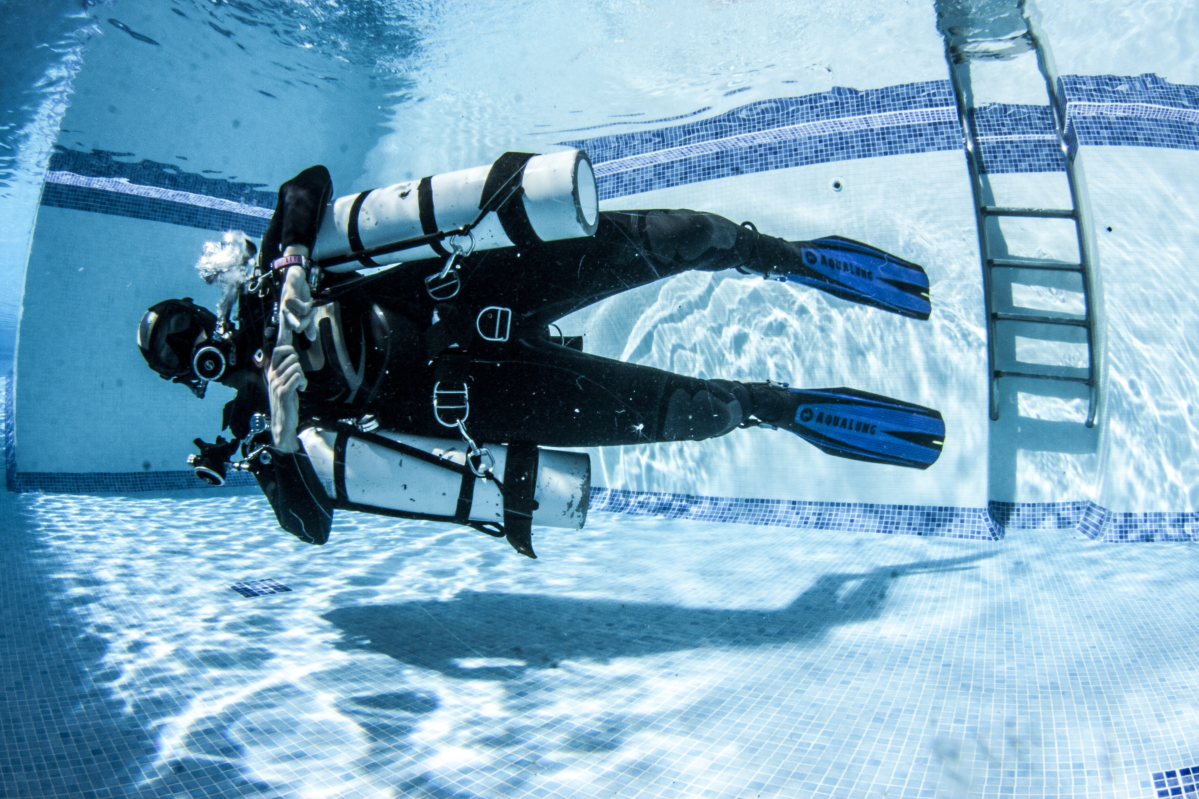 sidemount diver specialty tenerife