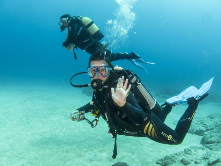 go diving in tenerife