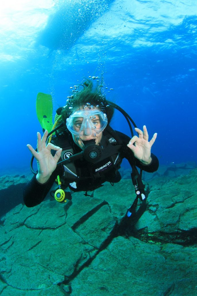 learn dive tenerife