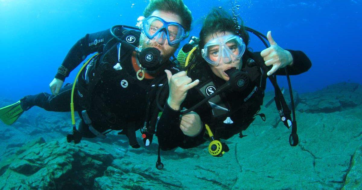diving tenerife padi open water duikcursussen