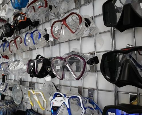 scuba mask tenerife diving masks