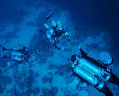 Trimix diving tenerife