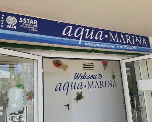 improving aqua-marina 5star PADI IDC dive centre tenerife